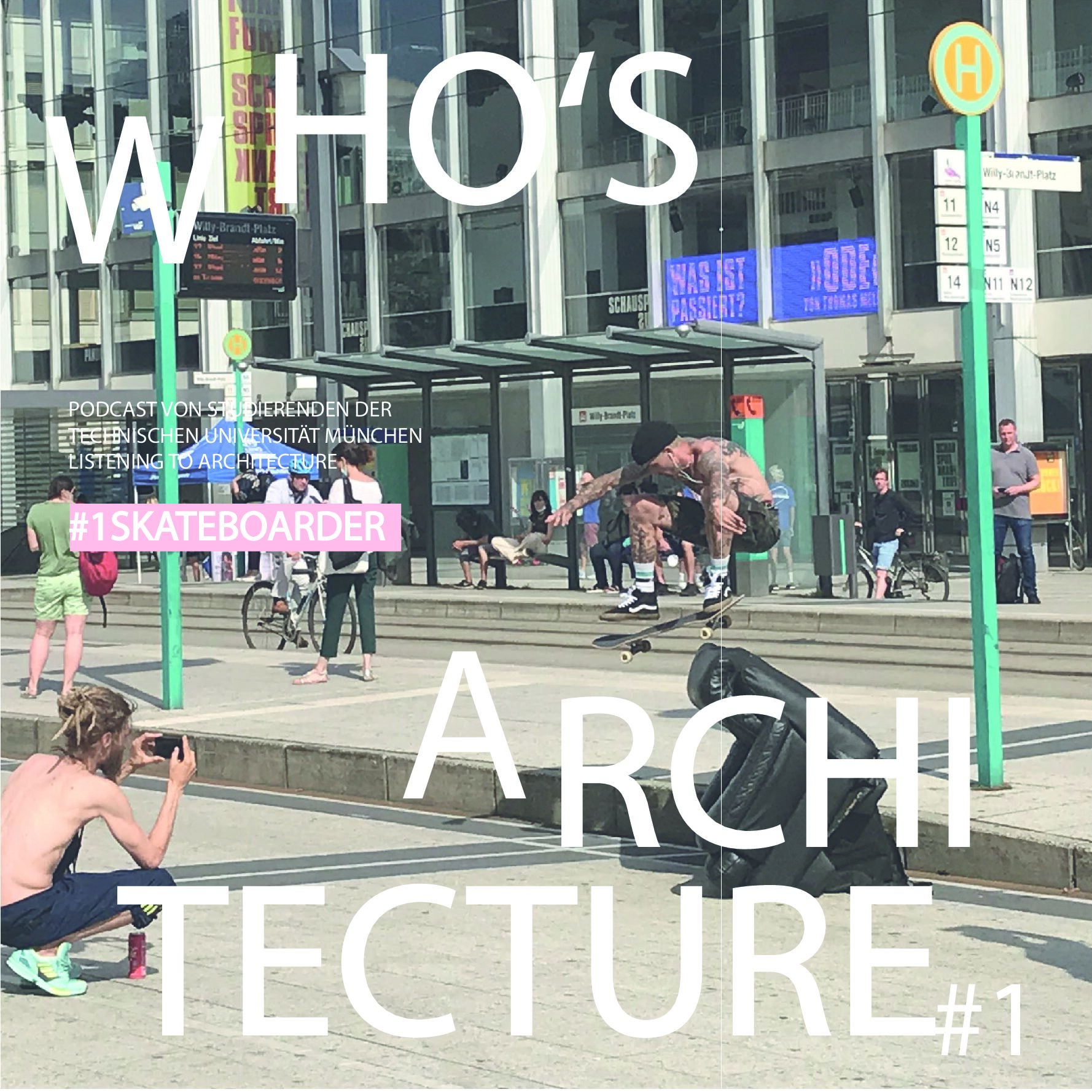 """Read more about the article Season 2: Special """"Who's Architecture"""", Episode 1: """"Skateboarder""""  by Hans Richter"""